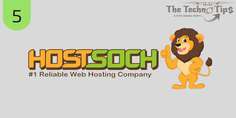 HostSoch is fastest growing SSD web hosting service provider with domain Registration provider in India.