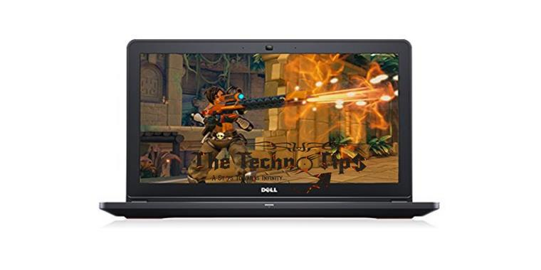 In this images there is a laptop name is New Dell Inspiron 15 for Best Budget Gaming Laptops TheTechnoTips.